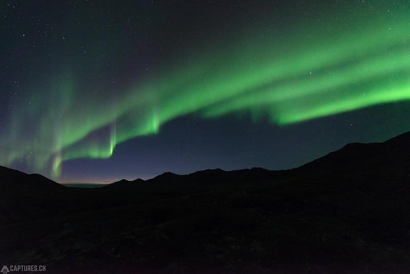 Northern lights 3 - Tombstone Territorial Park