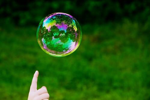 Leafy bubble