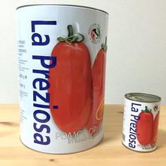 カルディのでっかいトマト缶