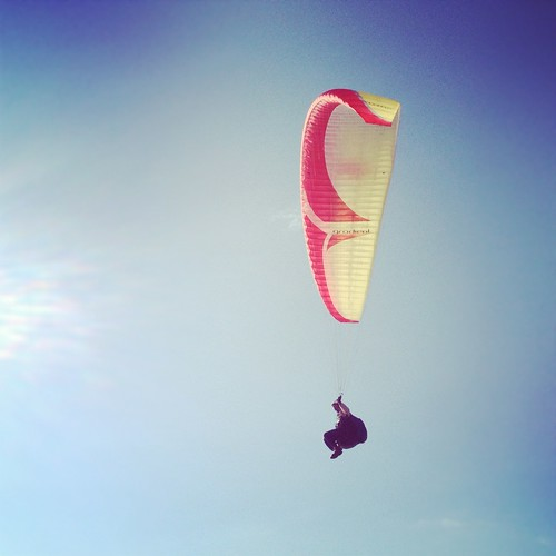 Paragliding | by SkinnyMuscles