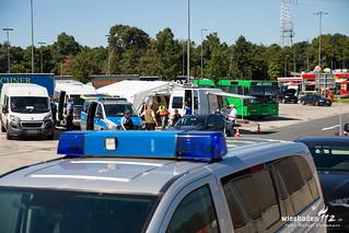 Polizei-Großkontrolle A5 Weiterstadt 23.08.16