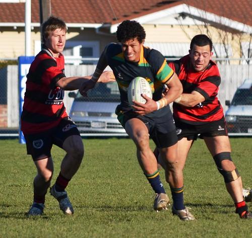 Club Rugby Round 17 2012: Te Awamutu Sports Vs Hamilton Ol