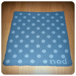 Ned Polka Dot Blanket | by Shara Lambeth