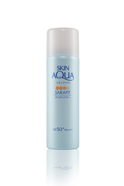 Sunplay Skin Aqua Sarafit Fragrance Free UV Mist SPF 50+ PA++++, $9.90 for 50g