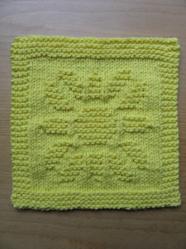 Sunflower Dishcloth | by evelyndesigns