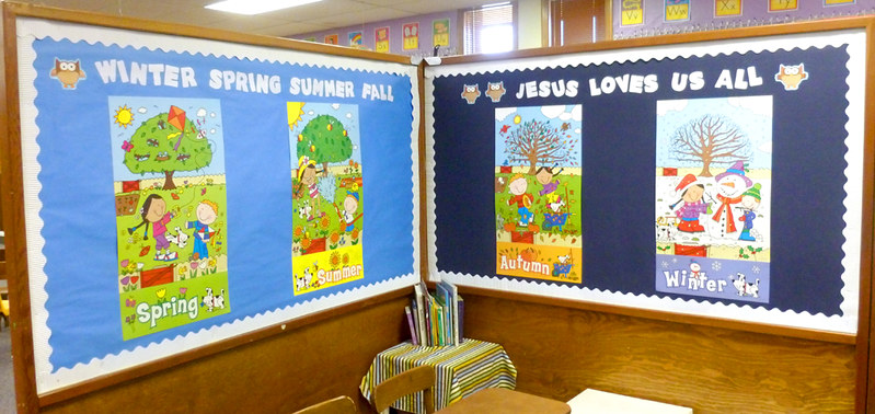 Seasonal Bulletin Boards