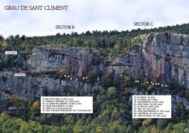 22- El Grau de Sant Climent -03- Sector B y C 2015