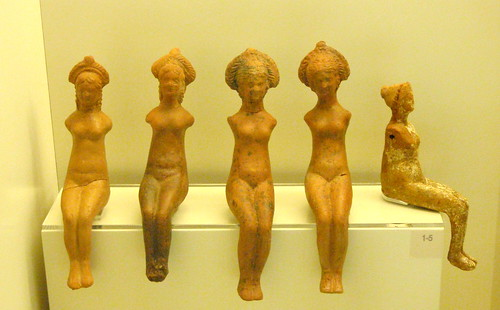 Five nude female figurines | by diffendale