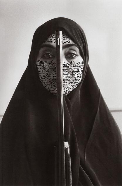 Shirin Neshat《Women of Allah》,1997