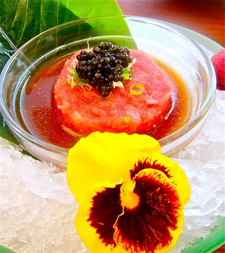 tuna tartar with caviar | by jayweston@sbcglobal.net