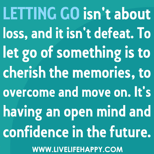 Letting Go | by deeplifequotes