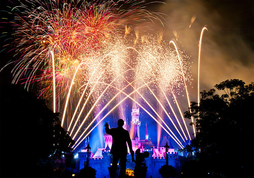 Disneyland Magical! Fireworks (57 Seconds) | by Tom.Bricker