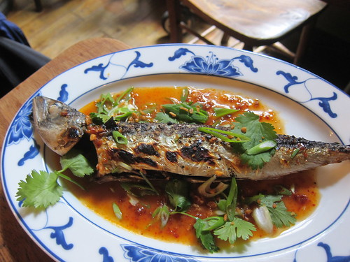 Whole Cornish Mackerel with Nahm Prik Pao