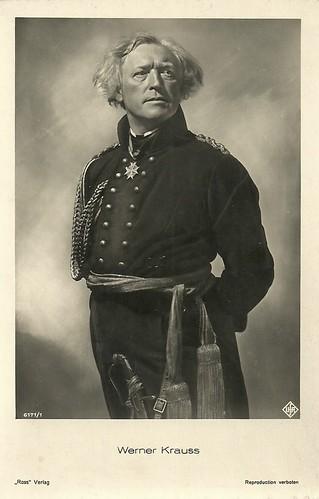 Werner Krauss in Yorck (1931)