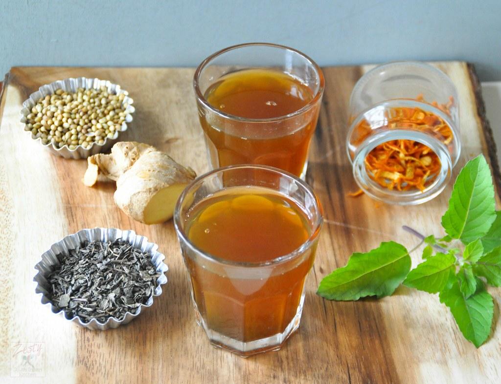 Holly Basil Green Tea