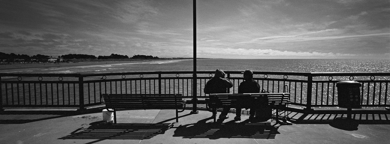 Pair on Pier