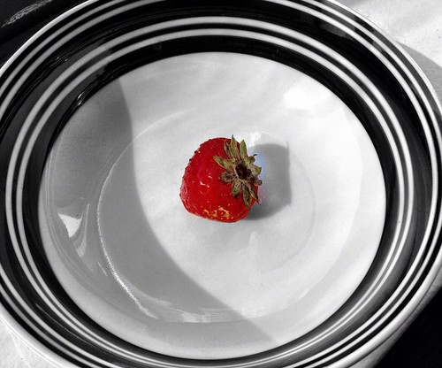 The last strawberry  #iphoneography #photography #fruit | by naveen.konduri