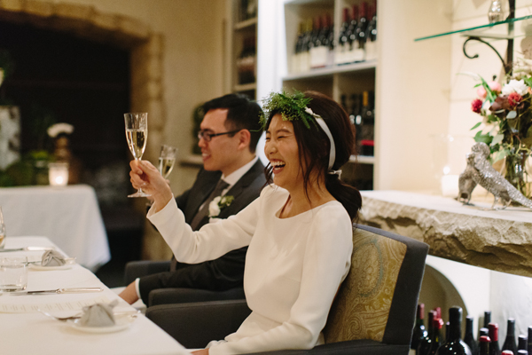 Celine Kim Photography Auberge du Pommier romantic intimate restaurant Toronto fall wedding-70