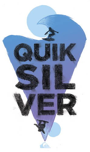 Quiksilver Design - The Mountain and the Wave | by wanderingbert
