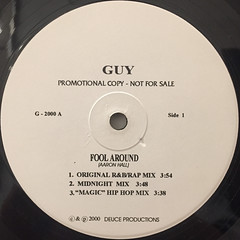 GUY:FOOL AROUND(LABEL SIDE-A)