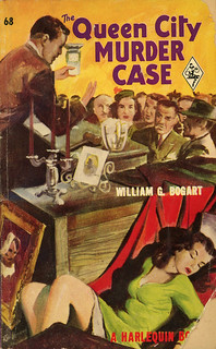 Harlequin Books 68 - William G. Bogart - The Queen City Murder Case | by swallace99