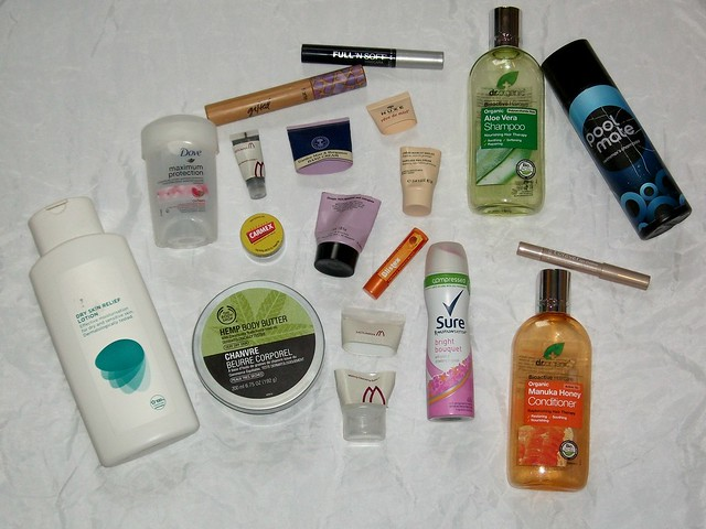 July-Empties