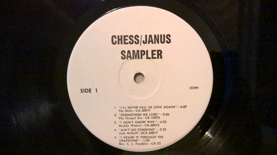 Various - The Chess-Janus Mobile Discotheque - Volume 1