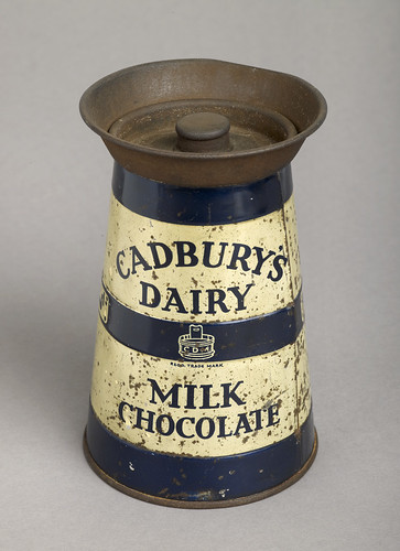Tin Of Cadbury Dairy Milk Chocolate During The Early
