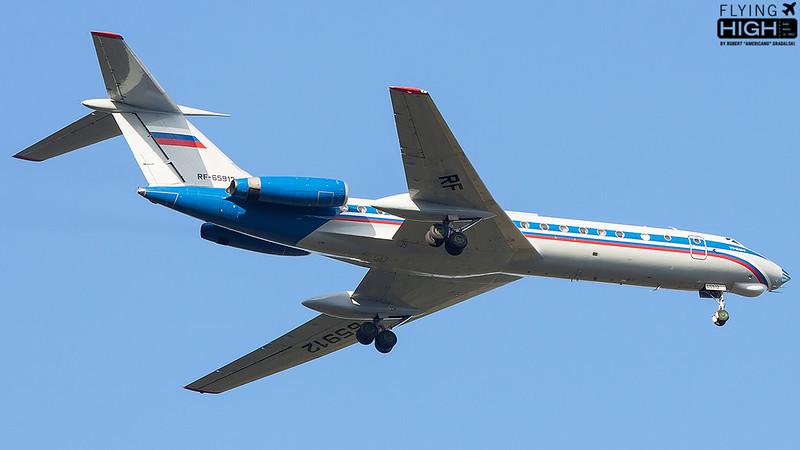Russia State Transport Company TU134A3
