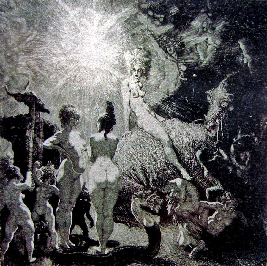 Norman Lindsay - To the Festival, 1934