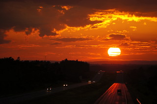 _drive into the sunset | by Nancleve