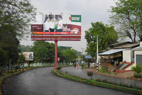 Lashio Myanmar  City pictures : Billboard Lashio, Myanmar | Axel Drainville | Flickr