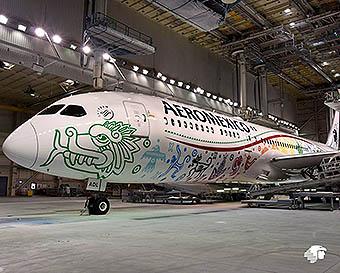 Aeroméxico B787-9 XA-ADL Quetzalcotal (Aeromexico)