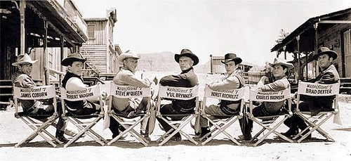 The Magnificent Seven - 1960 - Cast - 1