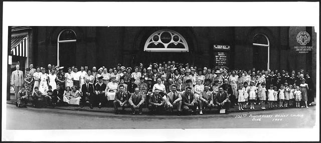 Wesley Methodist Church, 100th Anniversary, June 1949