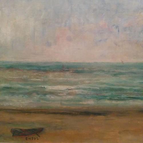 From Beach at Ostend, James Ensor #toronto #ago #artgalleryofontario #jamesensor