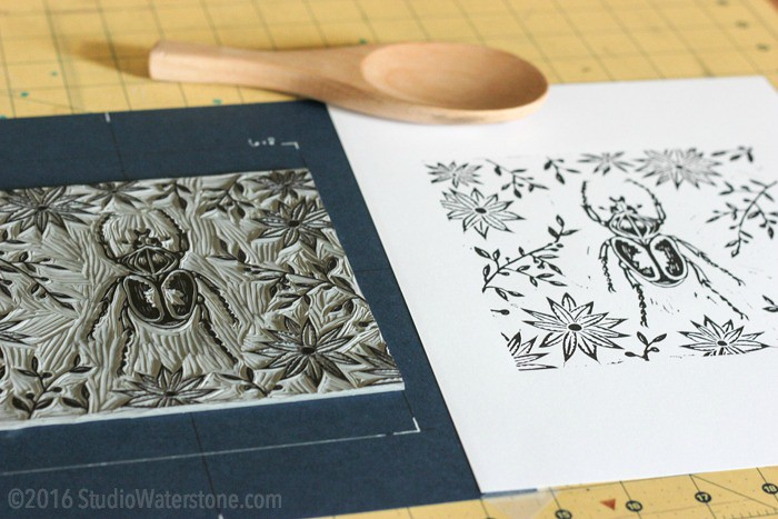 Simple Solutions: Relief Print Grid