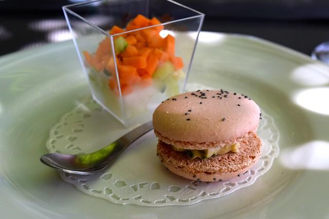 Amuse Bouche at Hotel Restaurant du Chateau, Combourg | www.rachelphipps.com @rachelphipps