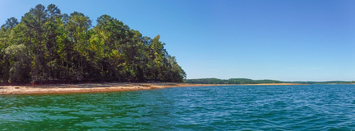 Paddling to Ghost Island in Lake Hartwell-116
