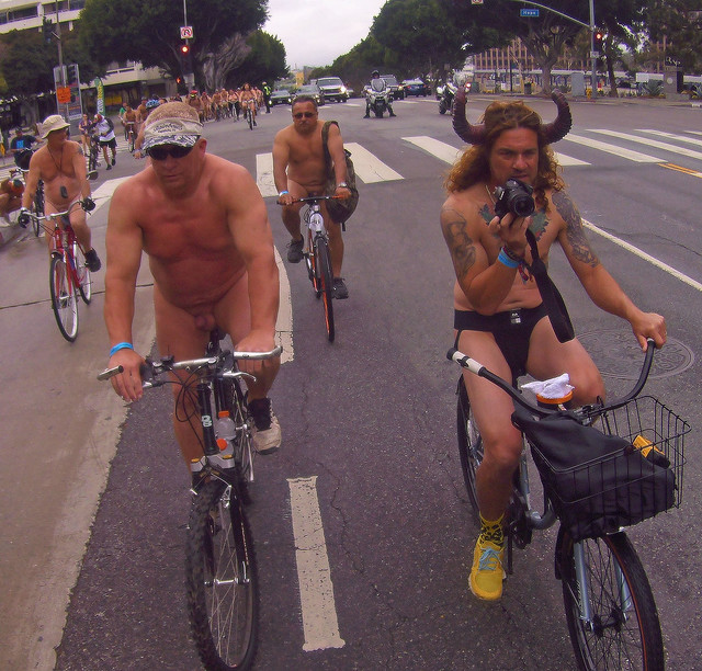 LA World Naked Bike Ride (451)