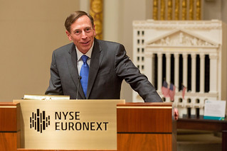 Director Petraeus rings opening bell at NY Stock Exchange | by The Central Intelligence Agency