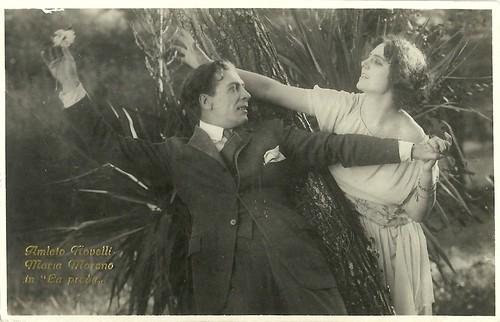 Amleto Novelli in La preda (1921)