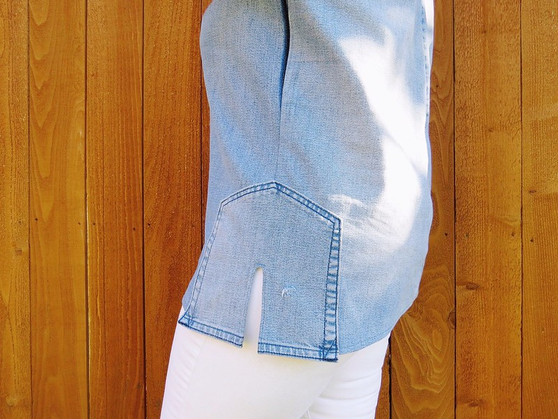 Denim Tunic - After
