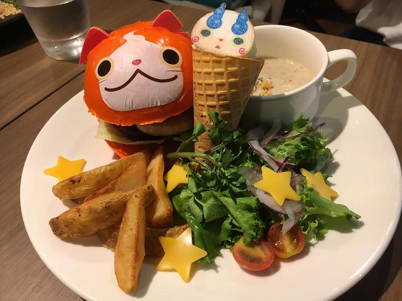 妖怪ウォッチぷにぷにバーガー(ジバニャン/コマさん)