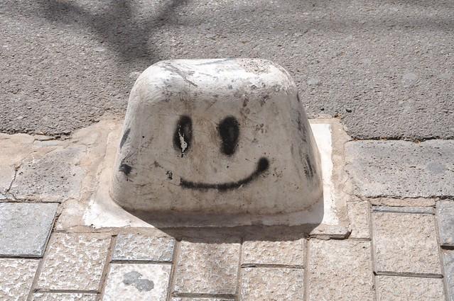 immer lächeln!