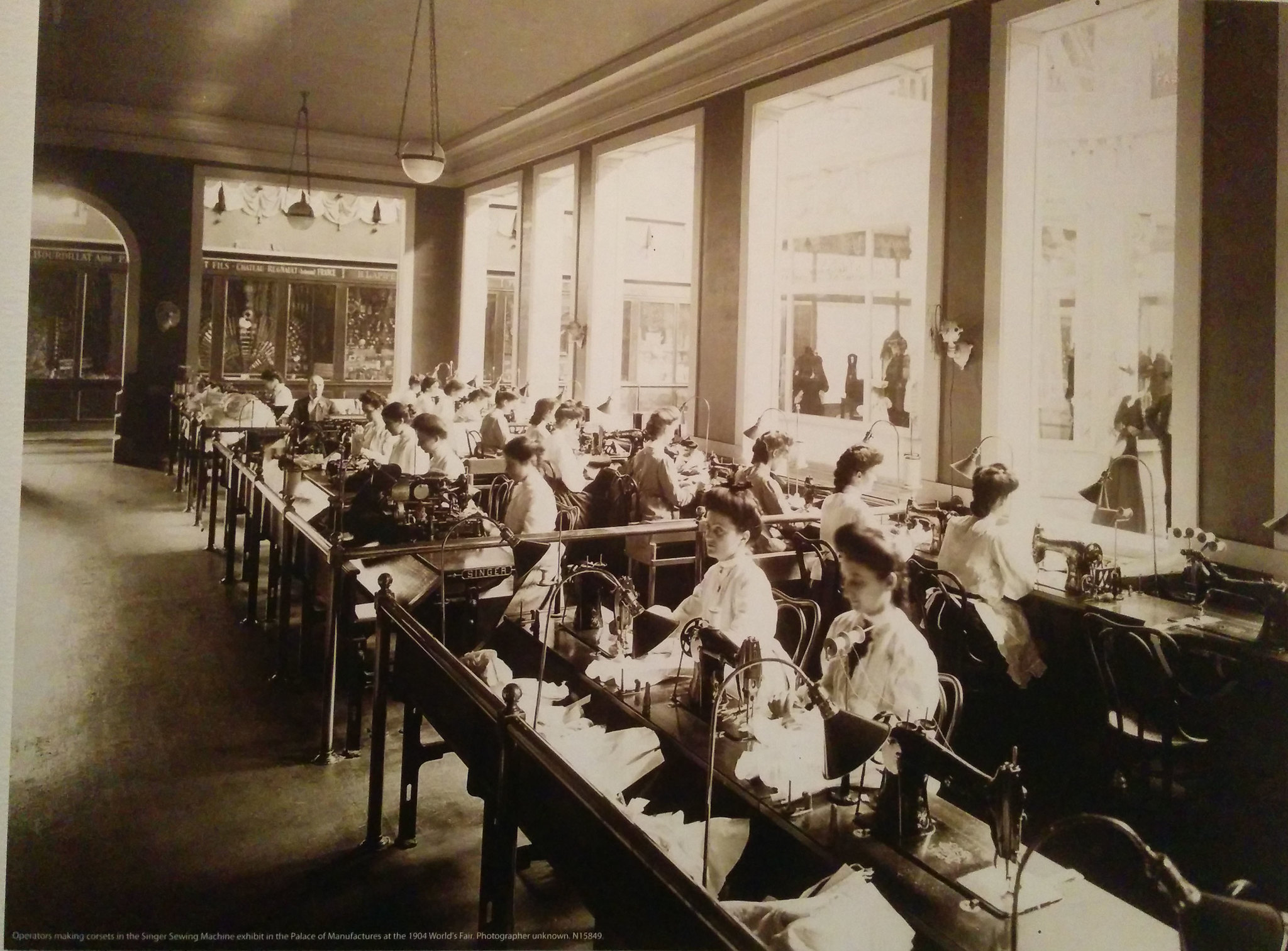 15 - 1904 World's Fair Seamstresses