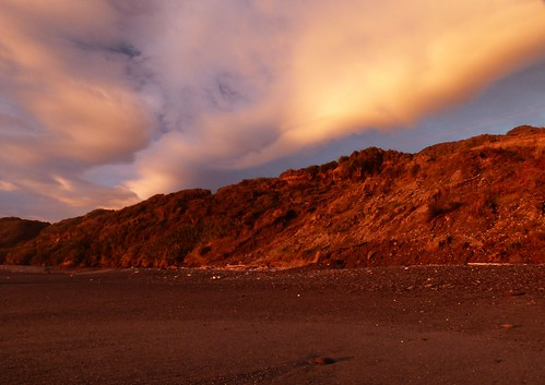 Evening on Rapahoe Beach | by New Zealand Wild