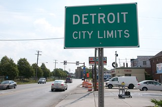 Detroit City Limits Sign 3  Sam Beebe  Flickr