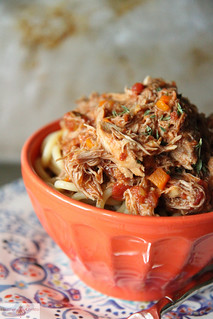 Slow Cooker Pork Ragu | by Heather Christo
