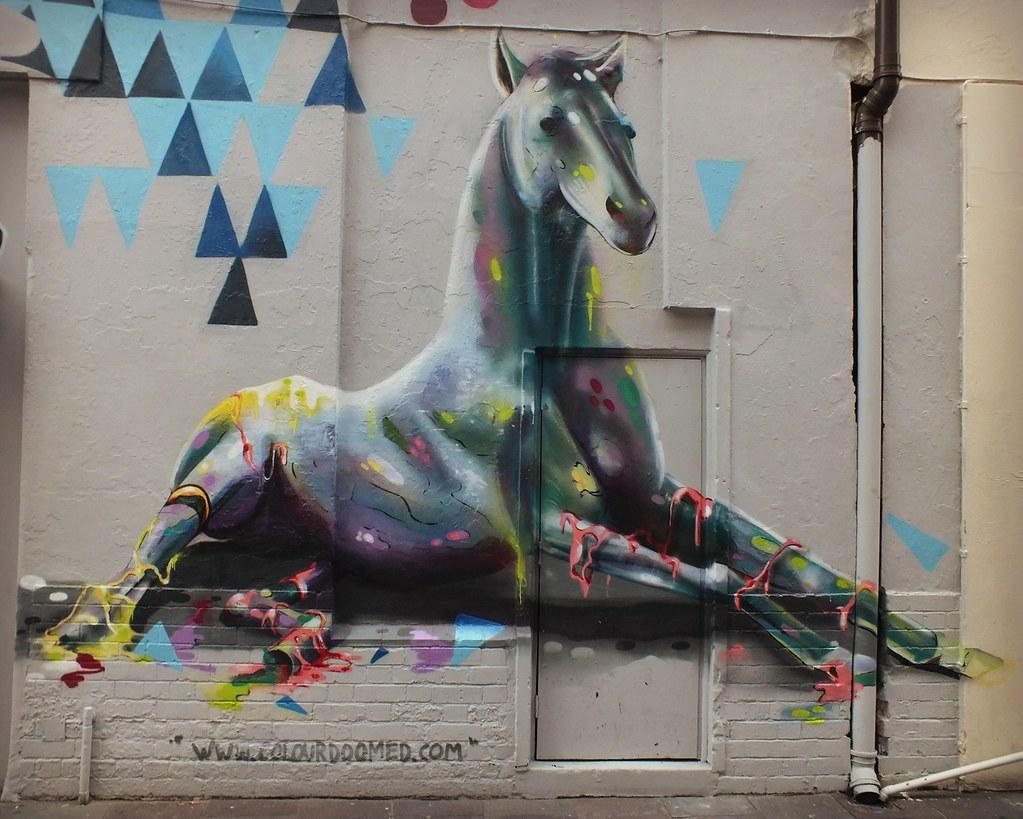 Street Art-Womanby Street Cardiff